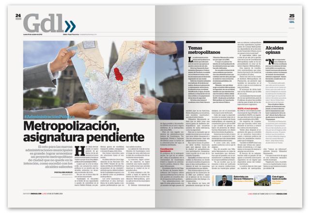 Reporte Indigo GDL, Issue No. 115, Spread